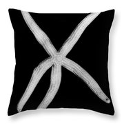 Fossil: Starfish Throw Pillow
