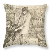 Found - Compositional Study Throw Pillow