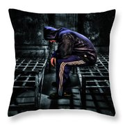 Found Guilty Throw Pillow