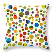 Found My Marbles 3.0 Throw Pillow