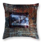 Foundation Number Sixteen North Throw Pillow