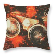 Foundry Formations Throw Pillow