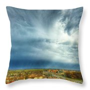 Founds Clouds Throw Pillow