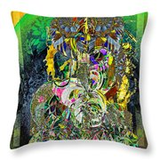 Fountain For The New City Throw Pillow