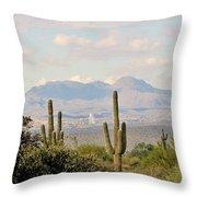 Fountain Hills Arizona Throw Pillow