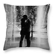 Fountain Love Throw Pillow