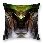 Fountain Of Joy Throw Pillow