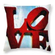 Fountain Of Love  Throw Pillow