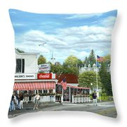 Fountain Of Youth Throw Pillow by Doug Kreuger