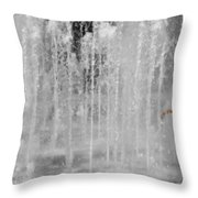 Fountain Play One Throw Pillow