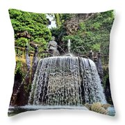Fountains.  Tivoli. Throw Pillow