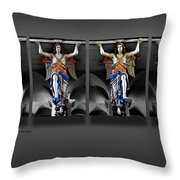 Four Angels Of The Corvey Abbey Throw Pillow