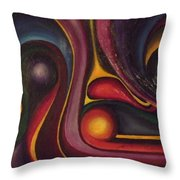 Four Ball In The Side Pocket Throw Pillow