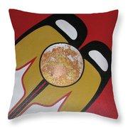 Four Corners - Haida Throw Pillow