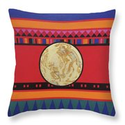 Four Corners - Seminole Throw Pillow