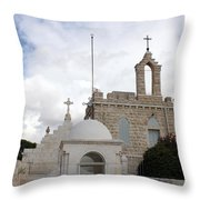 Four Crosses Throw Pillow
