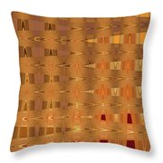 Four Eggplant Fruits Abstract Throw Pillow