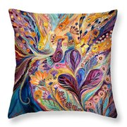 Four Elements IIi. Air Throw Pillow