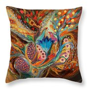 Four Elements IIi. Earth Throw Pillow