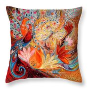 Four Elements IIi. Fire Throw Pillow