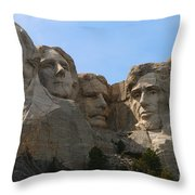 Four Former U S Presidents Throw Pillow