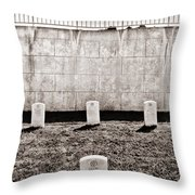 Four Harrows Throw Pillow