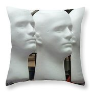 Four Heads Are Better Than One Throw Pillow