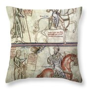 Four Horsemen, 1250 Throw Pillow