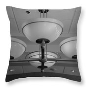 Four Lights Throw Pillow