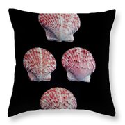 Four Of A Kind Throw Pillow
