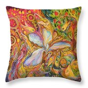 Four Periods Of Day Throw Pillow