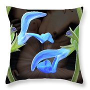 Four Play Throw Pillow