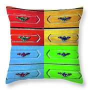 Four Possibilities 2 Throw Pillow
