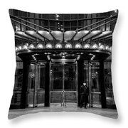 Four Seasons Hotel New York Throw Pillow