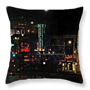 Fourteenth And Main Throw Pillow