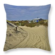 Fowler Shack Approach Throw Pillow