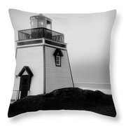 Fox Point Lighthouse Throw Pillow