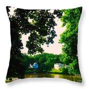 Fox River Throw Pillow