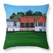 Foxrock Golf Club Throw Pillow