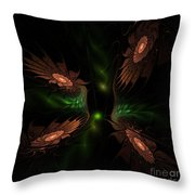Fractal 009 Throw Pillow