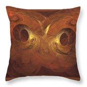 Fractal  020 Throw Pillow
