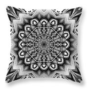 Fractal 12 Throw Pillow