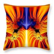 Fractal 145 Throw Pillow