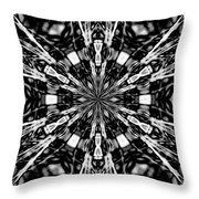 Fractal 7 Throw Pillow