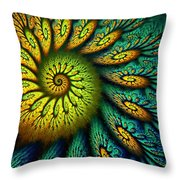 Fractal Abstract 061710 Throw Pillow