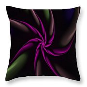 Fractal Abstract 070110 Throw Pillow