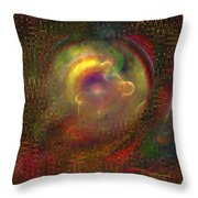 Fractal Abstraction Throw Pillow