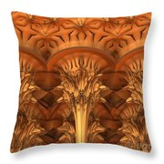 Fractal Architecture Throw Pillow