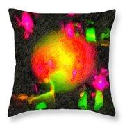 Fractal Art 1 Throw Pillow
