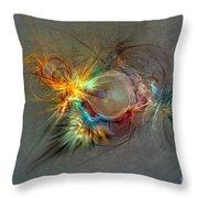 Fractal Art Beauty Throw Pillow